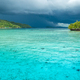 Beautiful Blue Lagoone shortly before Thunderstorm begining, Gam Island, West Papuan, Raja Ampat - PhotoDune Item for Sale