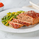 Meatloaf with green beans - PhotoDune Item for Sale