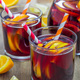 Red wine sangria with oranges and lemons - PhotoDune Item for Sale