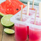 Homemade popsicles with watermelon and lime - PhotoDune Item for Sale