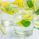 Homemade lemonade with fresh lemon and mint - PhotoDune Item for Sale