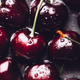 Macro of Fresh cherries - PhotoDune Item for Sale