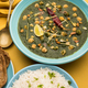 Chickpea Spinach Curry or Palak Chole Sabzi, Indian food - PhotoDune Item for Sale