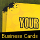 Radioactive Business Cards 300 dpi CMYK by djnick - GraphicRiver Item for Sale