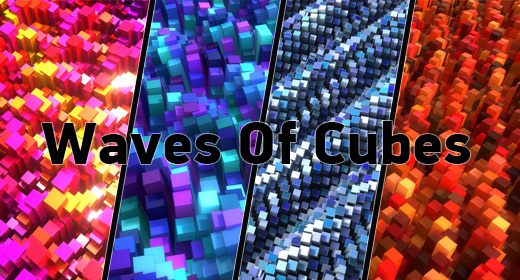 Waves Of Cubes