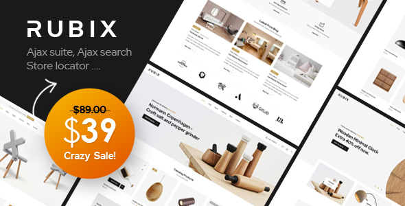 Rubix – Multipurpose Sections Magento 2 Theme