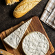 Brie cheese. White soft cheese with white mould. - PhotoDune Item for Sale