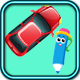 Tiny Car Hyper casual (game source code construct 3 )- HTML5