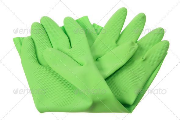 Rubber Gloves - Stock Photo - Images