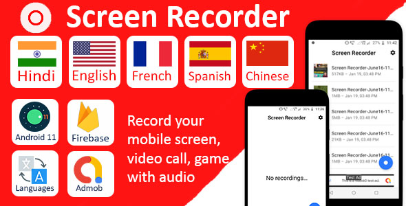 Screen Recorder Pro with Audio }}