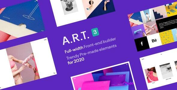 ART Gallery & Portfolio WordPress