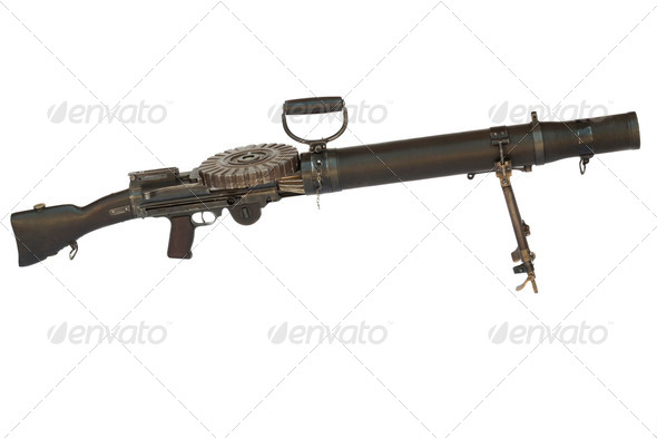 Mashine Gun - Stock Photo - Images
