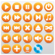 MUSIC BUTTONS VECTOR SET - GraphicRiver Item for Sale