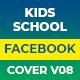 Kids School Facebook Cover Animate V08 - VideoHive Item for Sale