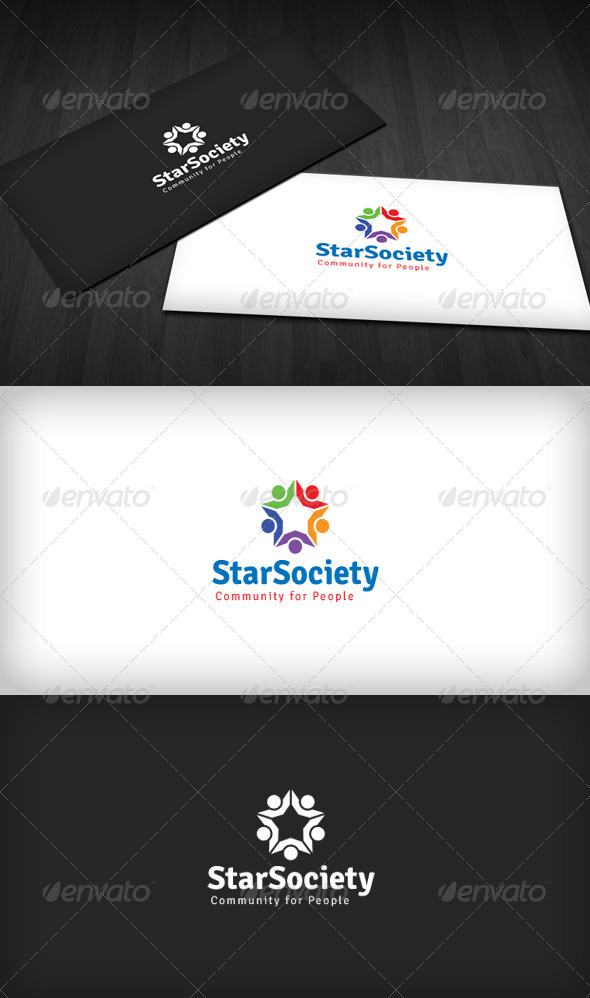 Star Society Logo 2 - Humans Logo Templates