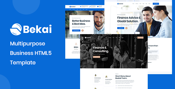 Beakai - Business and Financial Institution HTML5 Template