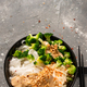 Ramen Rice Noodles with Vegetables and Nuts. Clean Eating Recipe - PhotoDune Item for Sale