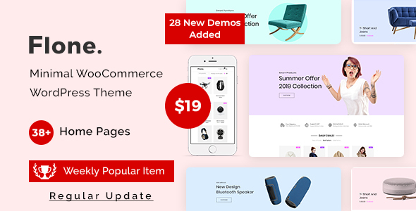 Flone – Minimal WooCommerce WordPress Theme Nulled