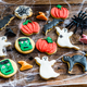 Homemade delicious gingerbread biscuits for Halloween - PhotoDune Item for Sale