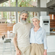 Modern senior couple living in big house - PhotoDune Item for Sale
