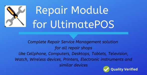 Download Advance Repair module for UltimatePOS Free Nulled
