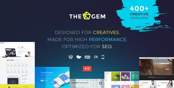 TheGem - Creative Multi-Purpose High-Performance WordPress Theme Nulled