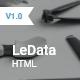 LeData - Responsive Business HTML5 Landing Page
