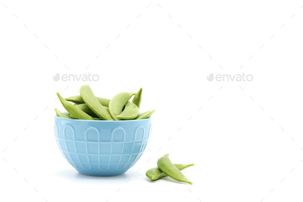 Fresh Snap Peas - Stock Photo - Images