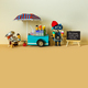 Mobile ice cream lemonade shop. - PhotoDune Item for Sale