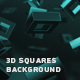 Abstract 3d Squares Background - VideoHive Item for Sale