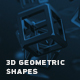 Abstract 3d Geometric Shapes - VideoHive Item for Sale