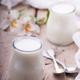 Yogurt in jars,homemade - PhotoDune Item for Sale