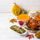 Thanksgiving Day traditional festive dinner - PhotoDune Item for Sale