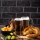 Beer, pretzels and Bavarian food - PhotoDune Item for Sale
