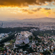 Scenic panoramic view on Acropolis in Athens, Greece at sunrise - PhotoDune Item for Sale