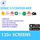 Ionic 5 / Angular 5 UI Theme / Template App -  Multipurpose Starter App