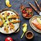 Fried zucchini flowers stuffed fish - PhotoDune Item for Sale