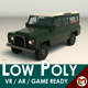Low Poly SUV 02