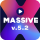 Massive X Presentation Template v.5.2 Fully Animated