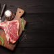 Raw T-bone beef steak - PhotoDune Item for Sale