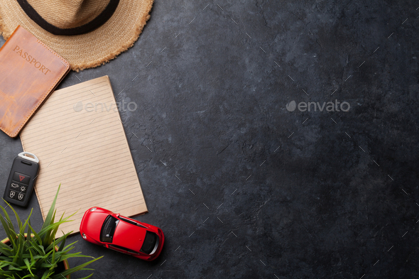 Travel vacation background concept - Stock Photo - Images