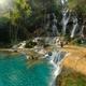 Kuang Si Waterfa near Luang Prabang Laos - PhotoDune Item for Sale