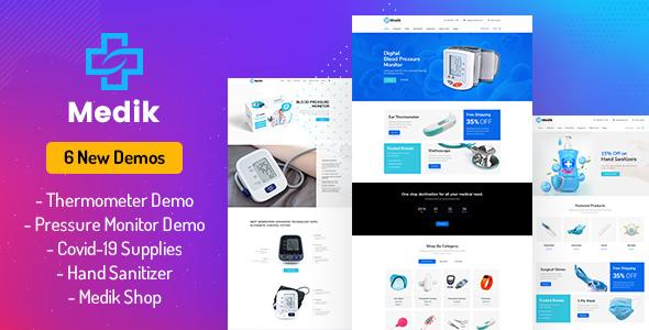 Medik - Medical WooCommerce Theme