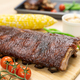 Oven baked BBQ pork ribs - PhotoDune Item for Sale