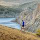 man athlete running uphill - PhotoDune Item for Sale