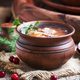 Shchi - soup made of sauerkraut, meat and tomato - PhotoDune Item for Sale