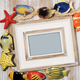 Picture frame with decorative fishes - PhotoDune Item for Sale