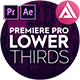 4K Incredible Lower Thirds | MOGRT - VideoHive Item for Sale