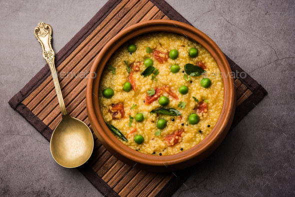 Dalia khichadi / Daliya Khichdi - Stock Photo - Images