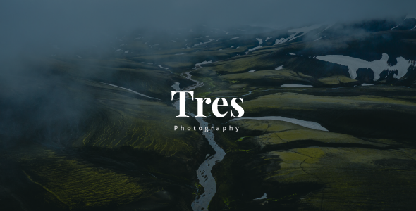 Tres - Creative Photography Template